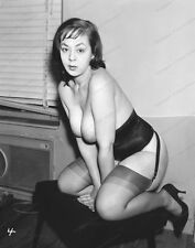 8x10 Print Sexy Model Pin Up Busty 1950's Nudes #M5092