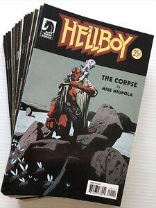 HELLBOY Big Lot Of 25 Issues, Dark Horse (2004-'11) 1st Ptg