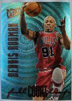 1996-97 Fleer Ultra Full Court Trap Dennis Rodman #5, Chicago Bulls, HOF
