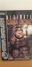 ULTIMATE MORTAL KOMBAT 3 PAL SEGA SATURN COMPLETO