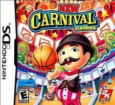 NEW DS, DSI, DS, 2DS Game Works in 3DS    New Carnival Games   MAKE AN OFFER