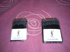 50 YSL Lip Brushes.