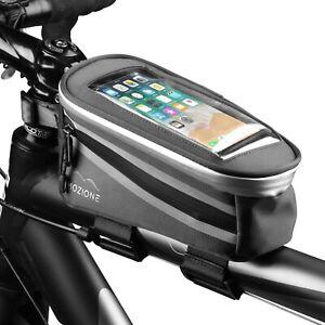 """Mozione Fahrradtasche Rahmen (1,2L) - Rahmentasche mit Handyfach bis 5,5"""" Zoll"""