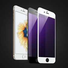 3D Full Coverage Blue Ray Tempered Glass Screen Protector For iphone 6 6s 7 Plus
