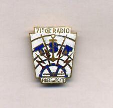71° COMP. RADIO. 1° D.I.C. TRANSMISSIONS