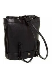 bb93e86626 NWT KOOBA BLACK CANYON SLING BACKPACK - GENUINE LAMB LEATHER DOUBLE STRAP   398