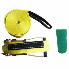10M Outdoor Extreme Sports Slackline New Style Thickening Soft Rope L5E1