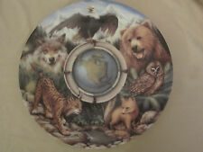 Earth'S Day 25th Anniversary North America collector plate Todd Clausnitzer