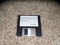"IC-Card + Series Ethernet PC Card Driver Program 3.5"" floppy disk"