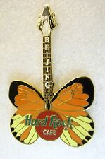 BEIJING,Hard Rock Cafe Pin,Butterfly Guitar Super Nice