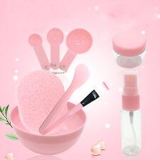 Mixing Bowl Brush Spoon Stick Makeup Beauty Set For Facial Mask Tool 9pcs/set
