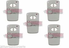 5-pack Multicode 4120 300 MHz 2 Button Remote Control