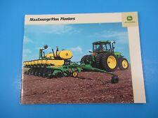 Original John Deere Sales Brochures MaxEmerge Plus Planters  M1382