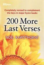 200 MORE LAST VERSES Rawsthorne