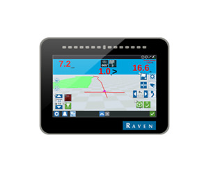 RAVEN CR7 GPS Display with 500s Receiver, Mount & Power Cabling