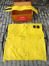 "GEORGE F. CAKE ""BOMB BLANKET"" with Storage box from Bethlehem * EXCELLENT COND!"