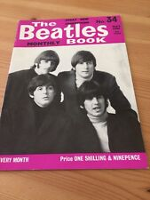 Beatles Monthly Book No 34 May 1966