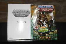 MASTERS OF THE UNIVERSE CLASSICS OPTIKK MOTUC MOC MINT He-Man ORIGINAL RARE