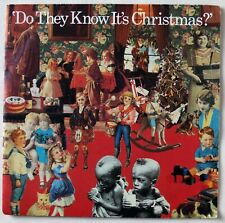 """DO THEY KNOW IT'S CHRISTMAS ? / FEED THE WORLD  / 7"""" VINYL / PETER BLAKE SLEEVE"""