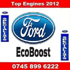 FORD FIESTA ECOBOOST 1.0 PETROL SFJA BARE ENGINE SUPPLY & FIT 2013-2016