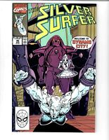 THE SILVER SURFER #40 1990 MARVEL COMIC.#115606D*12