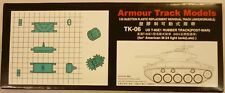 Armour Track Models Workable Track Links For US M-24 Late Light Tank Chaffee