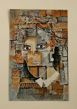 Original Upcycled Art 'The Other Woman' by Joyce & Vicky