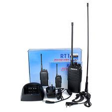 Retevis RT1 Walkie Talkie UHF 400-520MHz 10W VOX Scrambler 2Way Radio+2×Antenna