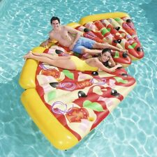 New listing Inflatable Pizza Slice Pool Toy - 6 foot Slice - Connect Slices to make a pie!