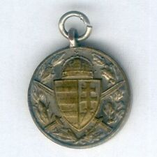 HUNGARY. Miniature Commemorative Medal for World War I for combatants