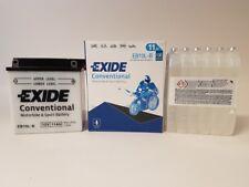 Batteria Moto Exide YB10L-B EB10L-B12V 11AH 130A 135X90X145MM ACIDO INCLUSO
