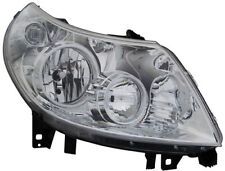 Clear chrome finish right side headlight front light for CITROEN Jumper 06-10TYC