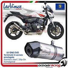 Leovince LV ONE inox Terminale scarico omologato Honda CB600F Hornet 2007>2013