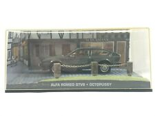JAMES BOND 007 Collection ALFA ROMEO GTV6 OCTOPUSSY Detailed Scale Model Car Toy