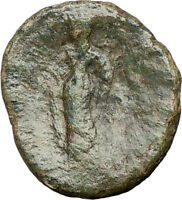 SICILY city AKRAI 210BC Underworld queen & Demeter  Ancient Greek Coin i24310