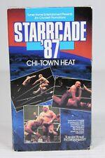 Starcade 87 Beta Max Movie Video Tape Chi-Town Heat Ric Flair Ron Garvin 1987