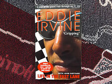 Life in the Fast Lane-Eddie Irvine - 2000 LIVRE DE POCHE-F1