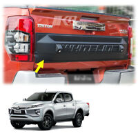 For Mitsubishi L200 Triton 4Dr 2019 20 Tailgate Cover With LEDs Matte Black