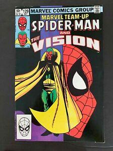 MARVEL TEAM-UP #129  MARVEL COMICS 1983 VF