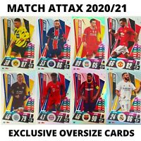MATCH ATTAX 2020/21 OVERSIZE CARDS, EXCLUSIVE XL CARDS ALL MINT