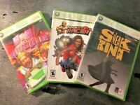Xbox 360 lot 3 Burger King games Big Bumpin Pocketbike Racer Sneak King