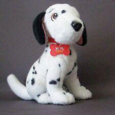 """Walt Disney 101 Dalmatians Pongo 13"""" Plush Dog w Collar & Name Tag EUC Adorable"""