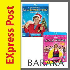 MRS BROWNS BOYS Series 1, 2 & 3 + Christmas Special Blu Ray RB Box Set not a DVD