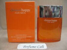 CLINIQUE HAPPY FOR MEN 3.4 FL oz  / 100 ML Cologne Spray Sealed Box