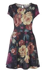 Oasis Floral Printed Sweatshirt Dress