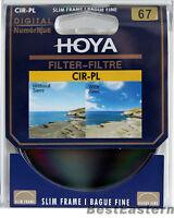 Hoya 67mm Slim CPL Circular Polarizing / Polarizer CIR-PL Filter