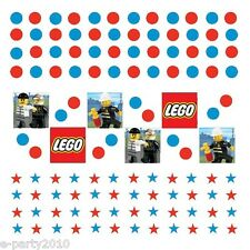 LEGO CITY CONFETTI VALUE PACK (3 types) ~ Birthday Party Supplies Decorations