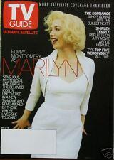 POPPY MONTGOMERY as MARILYN MONROE  5/01 TV Guide Mag