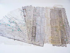 Computer Keyboard Mylars, Plastic Sheets with Circuit Board Patterns Lot of 20