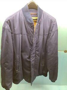 Vintage the Original Catalina Varsity Coat Men's 42 Long L/XL Navy Blue Jacket